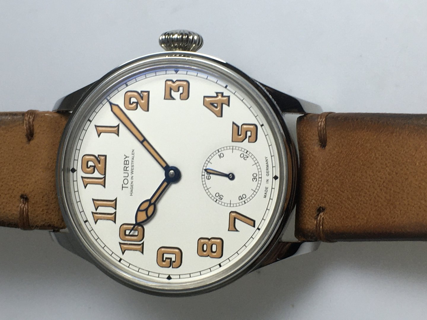 Tourby Old Military Enamel 43