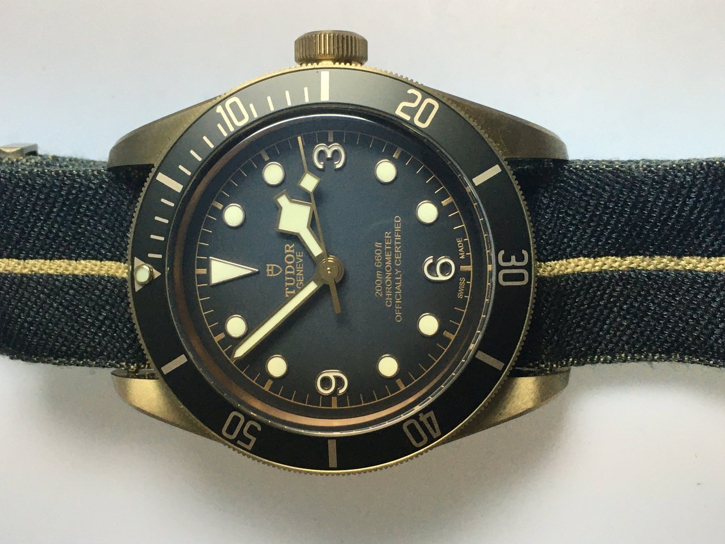 Tudor Black Bay Bronze, Full Set